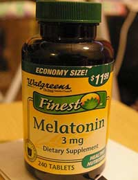 Melatonin Jet Lag Sleep Supplement